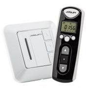JAROLIFT Funk-Zeitschaltuhr-Fernbedienung & 1-fach Taster Funkempfänger