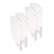 JAROLIFT Dachsparrenhalter fürGelenkarmmarkise Basic Plus | 4er Pack