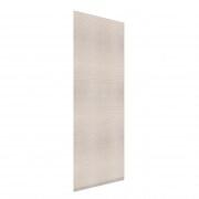 VICTORIA M Flächenvorhang strukturiert 60 x 250cm, beige liniert