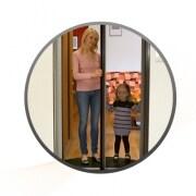 JAROLIFT Insektenschutzrollo für Türen 125 x 220 cm