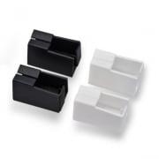 JAROLIFT Insektenschutzrahmen Schiebfix/Easy Slide Ersatzplastikkappen (4er Set)
