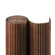 JAROLIFT PVC Sichtschutzmatte 140 x 400cm, braun