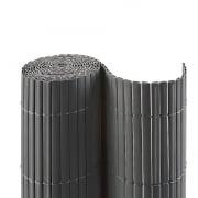 JAROLIFT PVC Sichtschutzmatte 140 x 400cm, grau