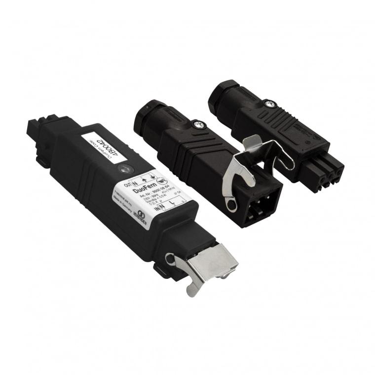 RADEMACHER DuoFern Connect-Aktor 9477 inkl. Hirschmann Stecker-Set (Kupplung STAK 3+Stecker STAS 3)