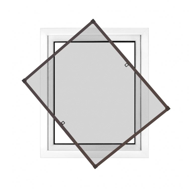 fliegengitter 60 x 150cm in braun fenster. Black Bedroom Furniture Sets. Home Design Ideas