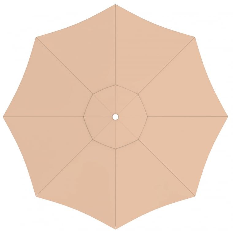 paramondo Sonnenschirm Bespannung für interpara Sonnenschirm (3,5m / rund), creme