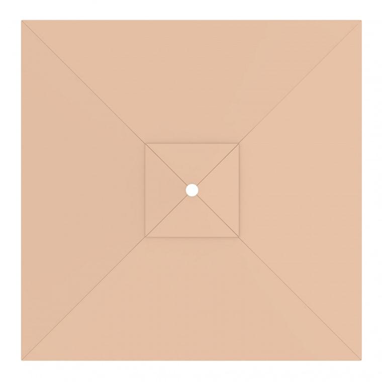 paramondo Sonnenschirm Bespannung für interpara Sonnenschirm (3x3m / quadratisch), creme