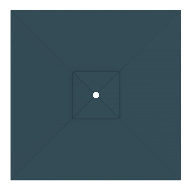 paramondo Sonnenschirm Bespannung für interpara Sonnenschirm (3x3m / quadratisch), grün