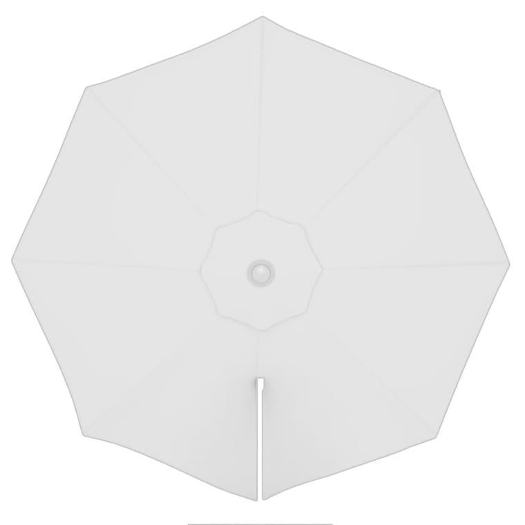 paramondo Sonnenschirm Bespannung für parapenda (Plus) Ampelschirm (3,5m / rund), weiß