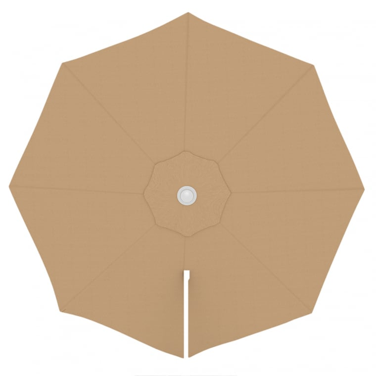 paramondo Sonnenschirm Bespannung für parapenda (Plus) Ampelschirm (3,5m / rund), creme