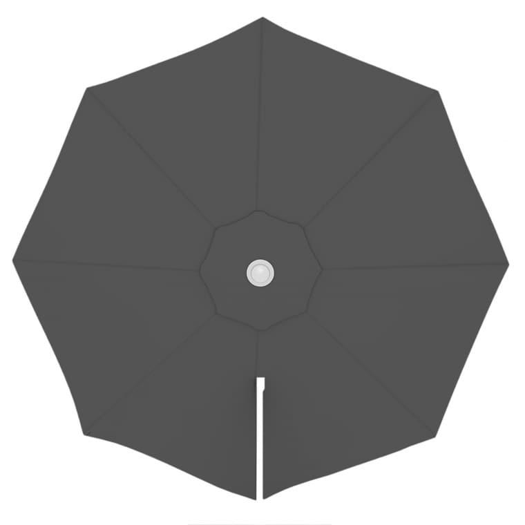paramondo Sonnenschirm Bespannung für parapenda (Plus) Ampelschirm (3,5m / rund), grau