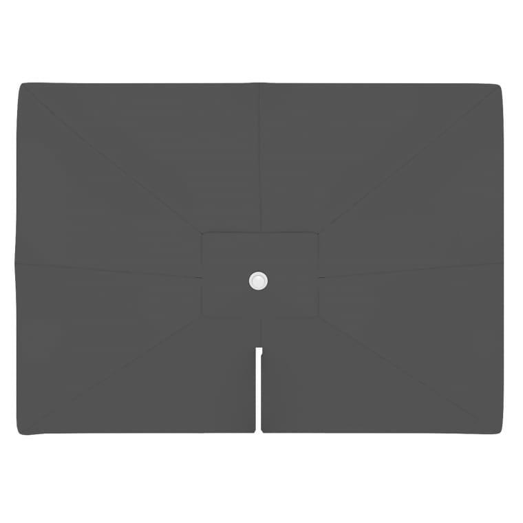 paramondo Sonnenschirm Bespannung für parapenda (Plus) Ampelschirm (4x3m / rechteckig), grau