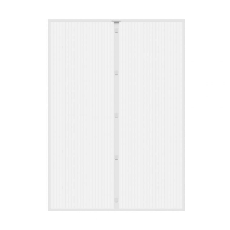 JAROLIFT Fliegengitter Magnetvorhang für Türen 110x220cm, weiss