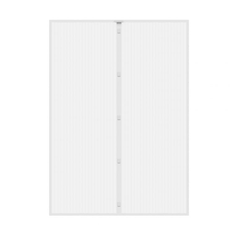 JAROLIFT Fliegengitter-Magnetvorhang für Türen | 160 x 230 cm, weiß