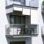 JAROLIFT Außenrollo - Senkrechtmarkise | freihängend, 180 x 140cm, weiß