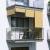 JAROLIFT Außenrollo - Senkrechtmarkise | freihängend, 240 x 140cm, sand