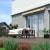 JAROLIFT Gelenkarmmarkise Basic Plus 600 x 350cm, Stoff gelb/orange Multistreifen