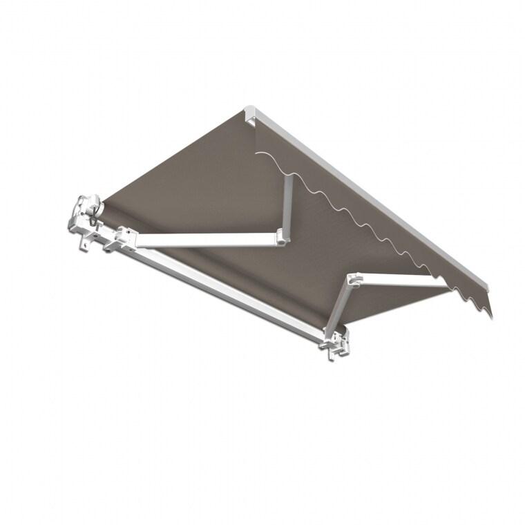 JAROLIFT Gelenkarmmarkise Basic Plus 600 x 350cm, Stoff anthrazit Uni