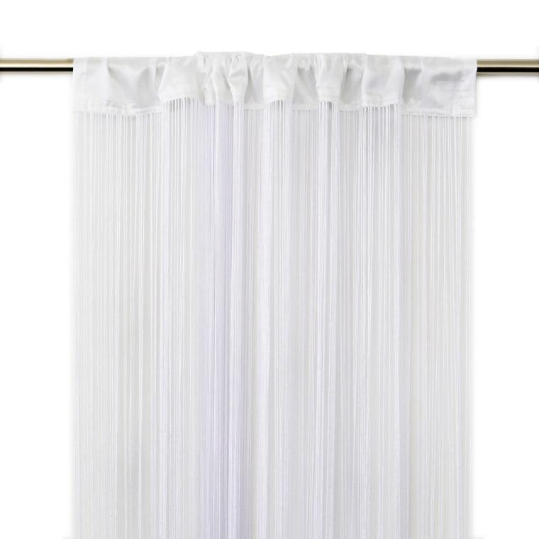 VICTORIA M Leonora Fadengardine 100 x 245cm, weiß