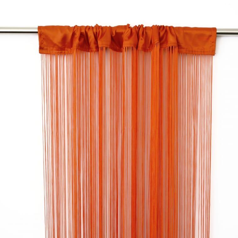 VICTORIA M Leonora Fadengardine 100 x 245cm, orange