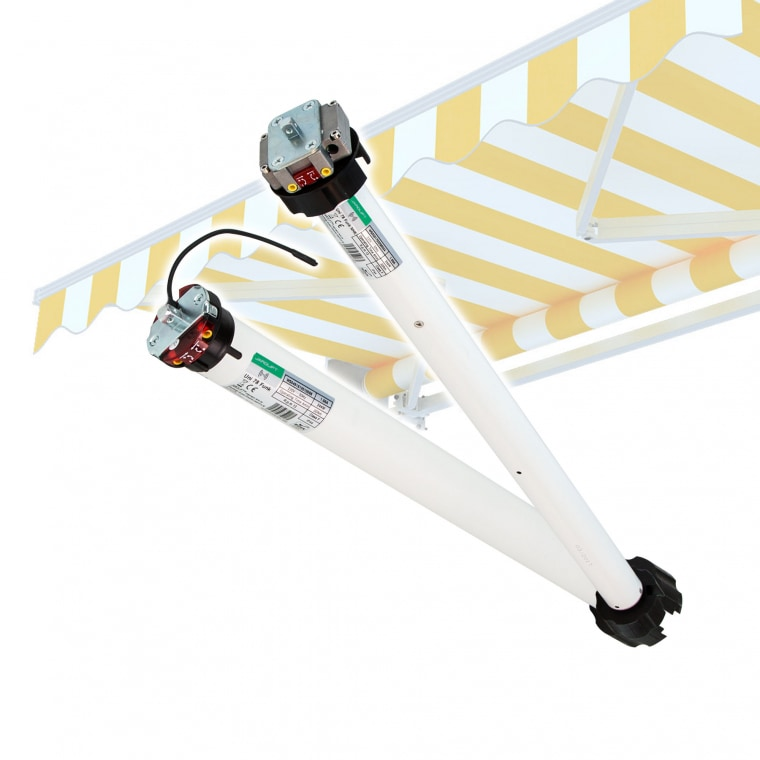 JAROLIFT Elektromechanischer Markisenmotor Uni Funk (Typ nach Wahl)