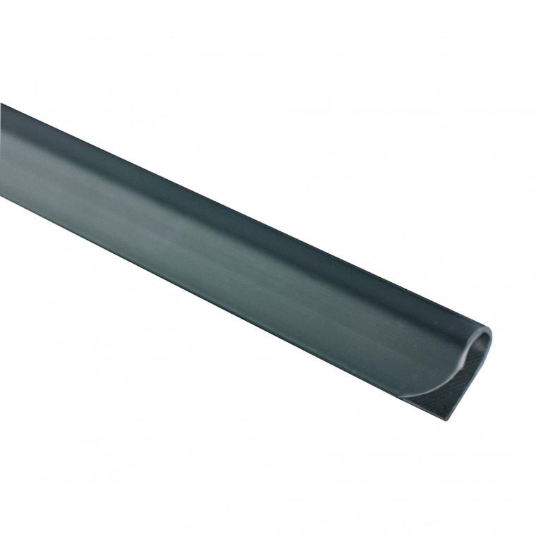 JAROLIFT Befestigungsclips für Sichtschutzstreifen PVC, grau   25er Pack