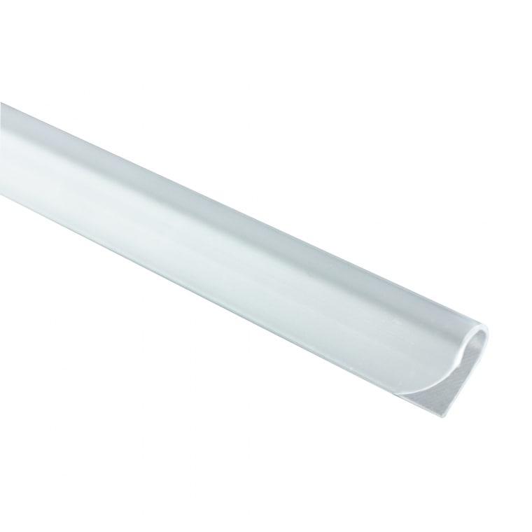 JAROLIFT Befestigungsclips für Sichtschutzstreifen PVC, weiss | 25er Pack