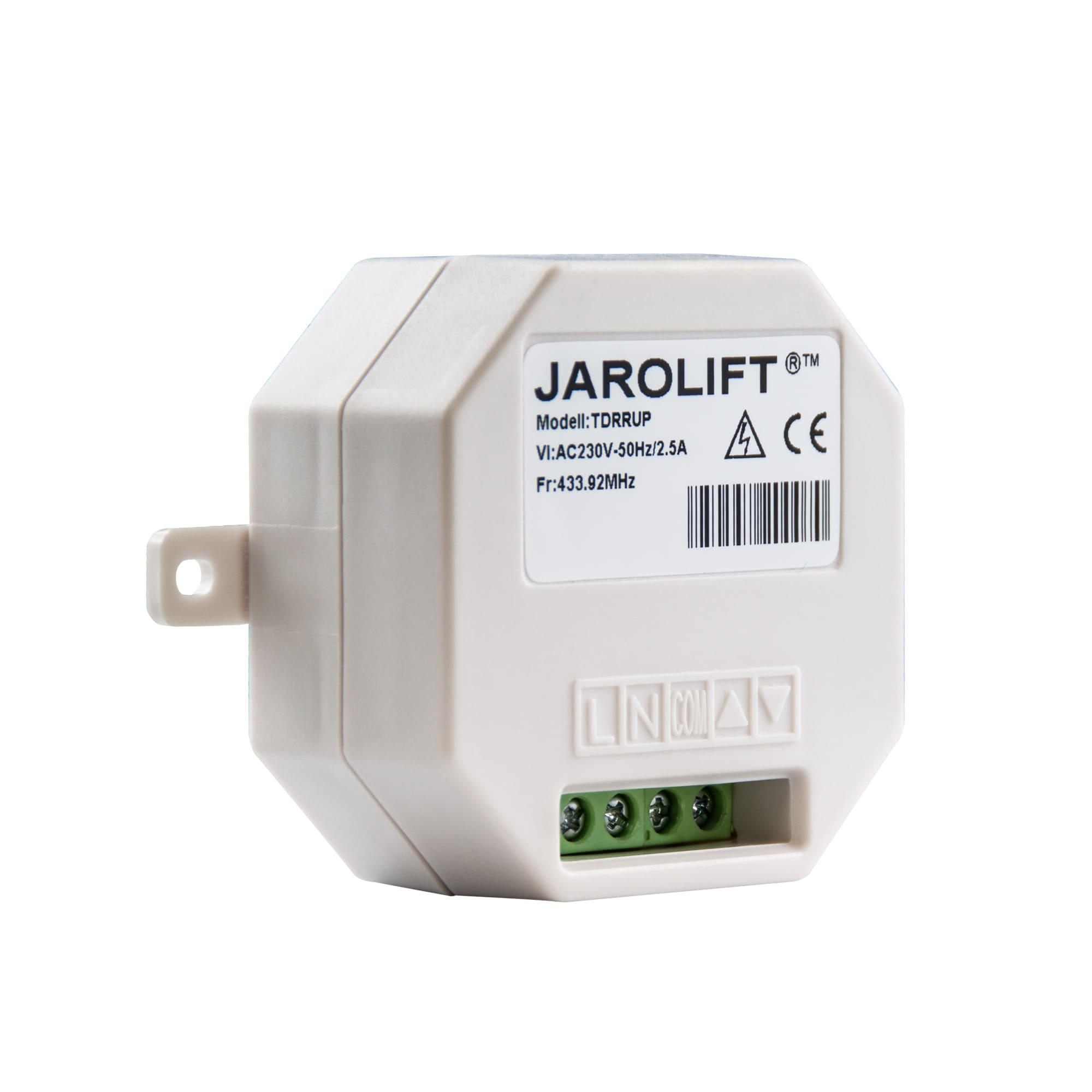 jarolift 1 kanal tdrrup l funk lichtschalter unterputz. Black Bedroom Furniture Sets. Home Design Ideas