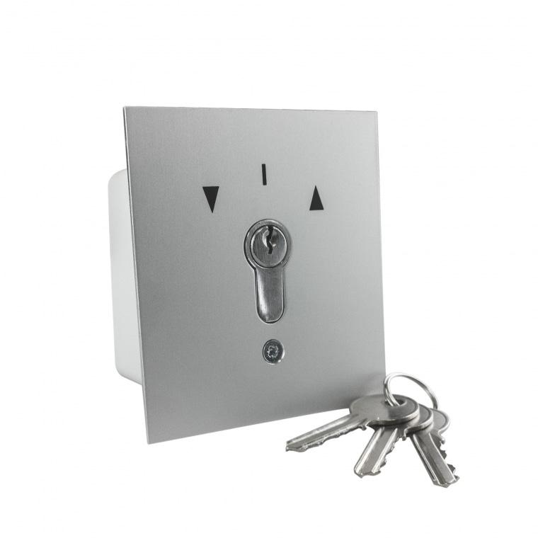GEBA Schlüsselschalter / -taster UP inkl. 3 Schlüssel
