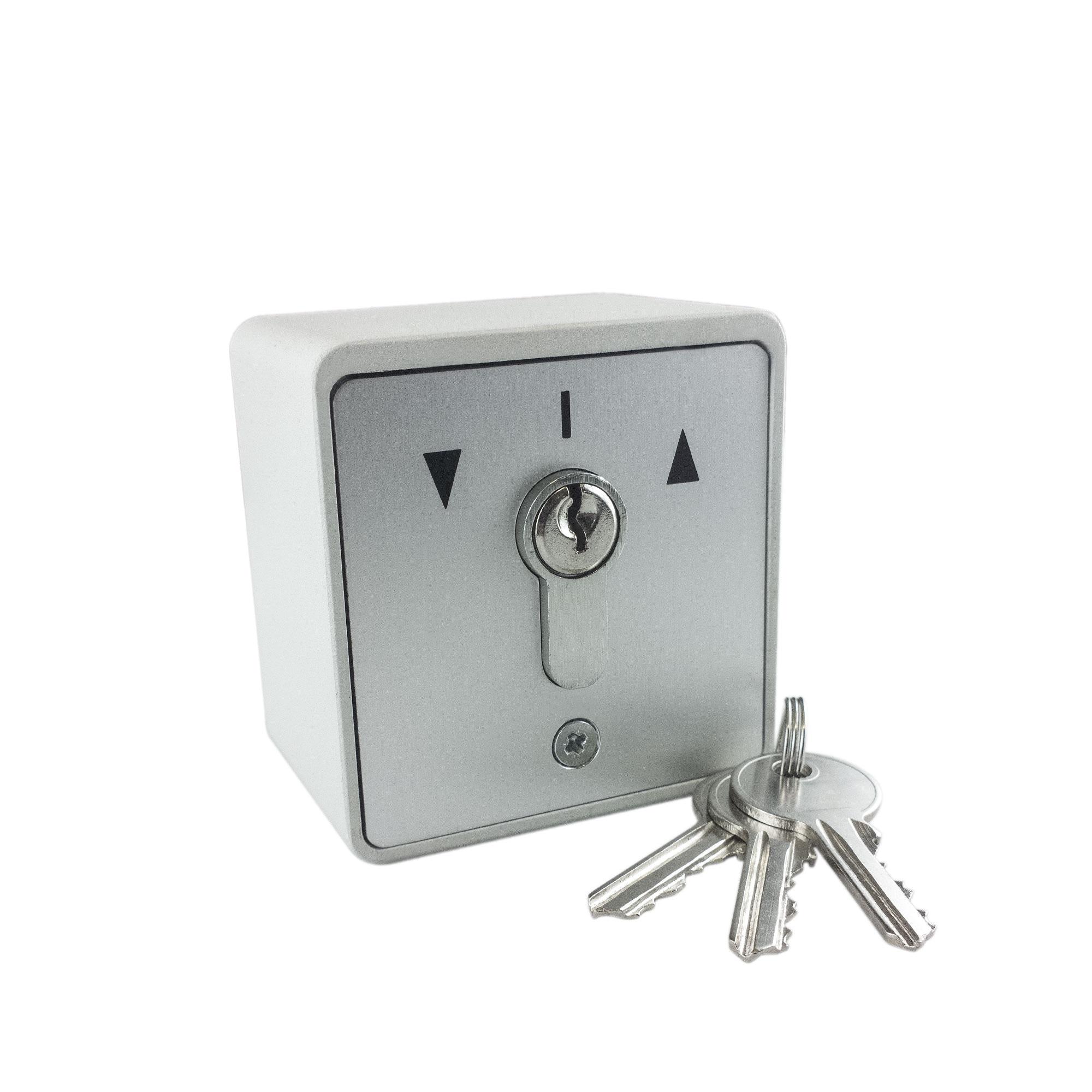 Bekannt GEBA Schlüsselschalter / Schlüsseltaster AP inkl. 3 Schlüssel RB03