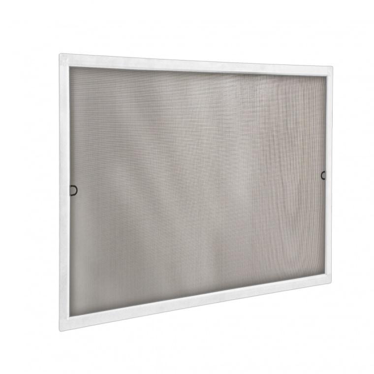 JAROLIFT Insektenschutz Spannrahmen SlimLine für Fenster 60 x 150cm, weiß