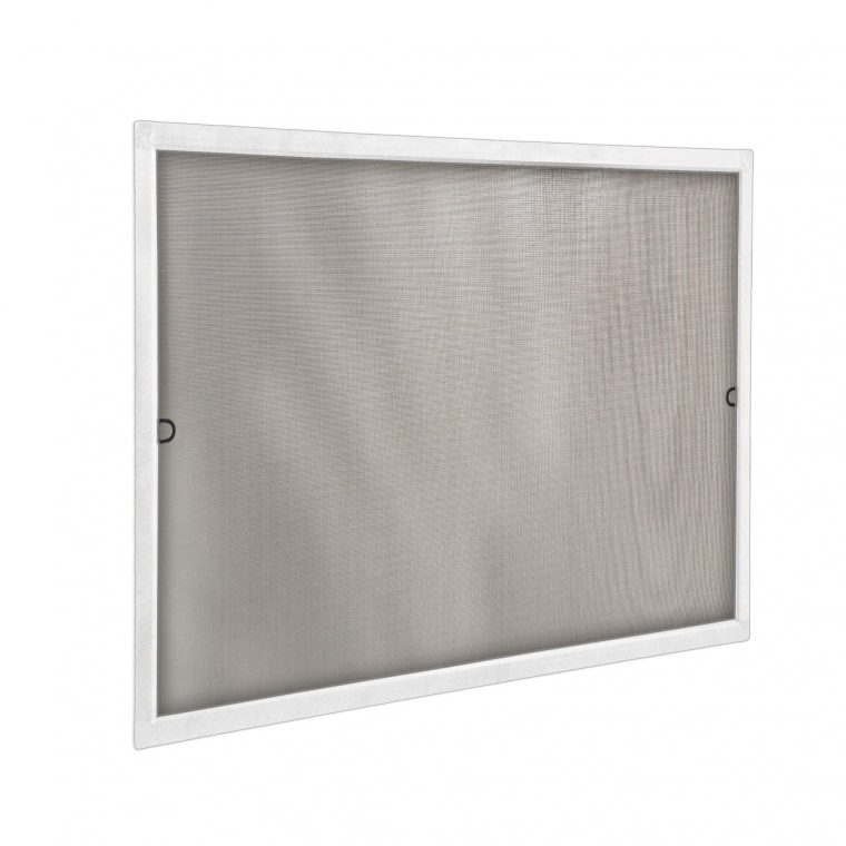 JAROLIFT Insektenschutz Spannrahmen SlimLine für Fenster 100 x 150cm, weiß