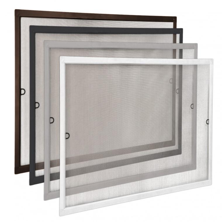 JAROLIFT Insektenschutz Spannrahmen SlimLine für Fenster (Typ nach Wahl)