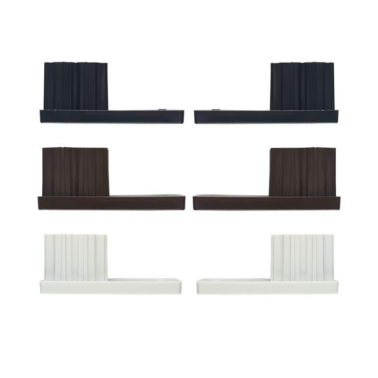 JAROLIFT Verschlusskappe für Rollladen-Führungsschienen PP 53 (53 x 22 mm) (Typ nach Wahl)