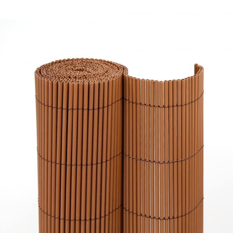 JAROLIFT Sichtschutzmatte ECO Wicker 90 x 300cm, braun