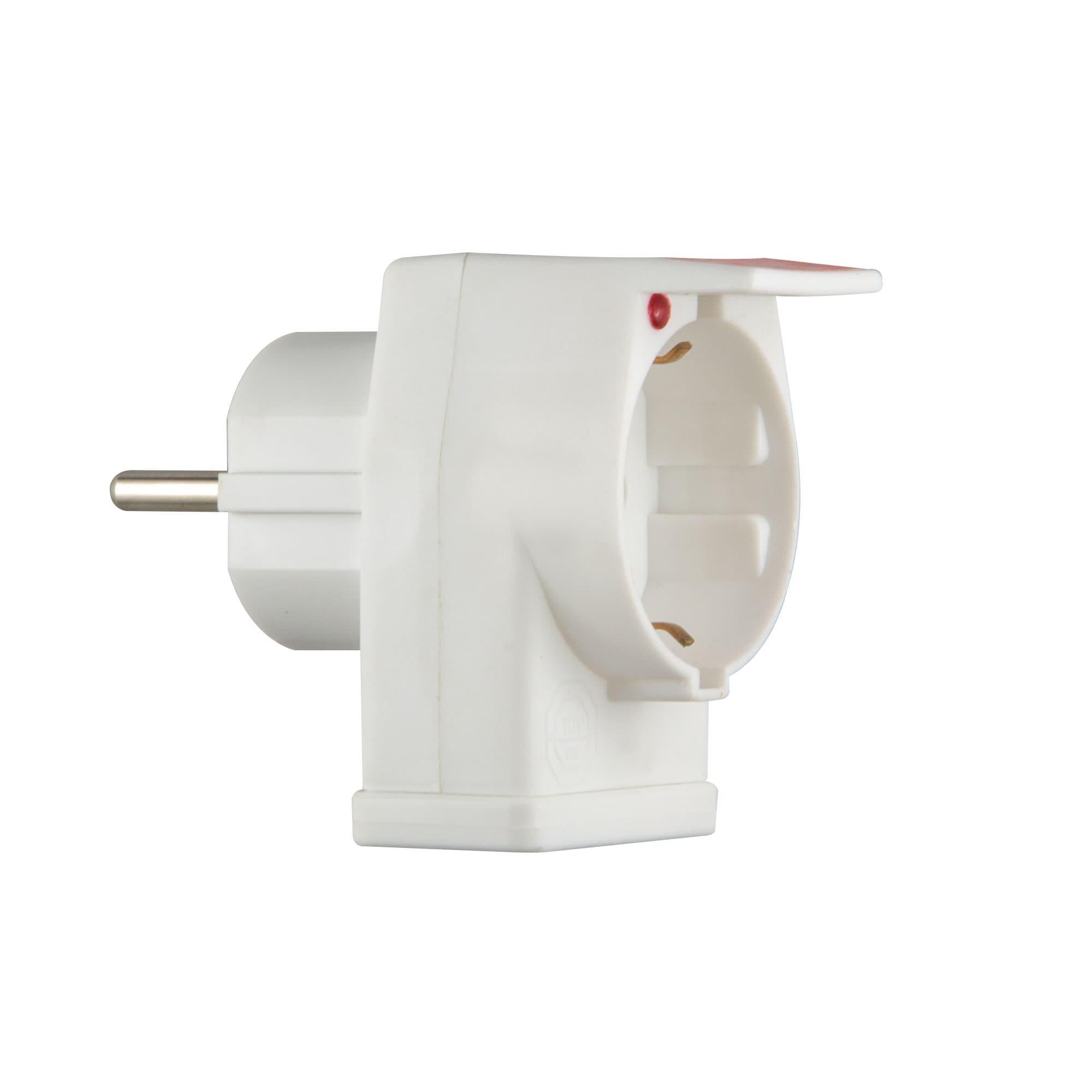Steckdose / Kombi-Duplex-Geräteschutzstecker von ISOTRONIC mit ...