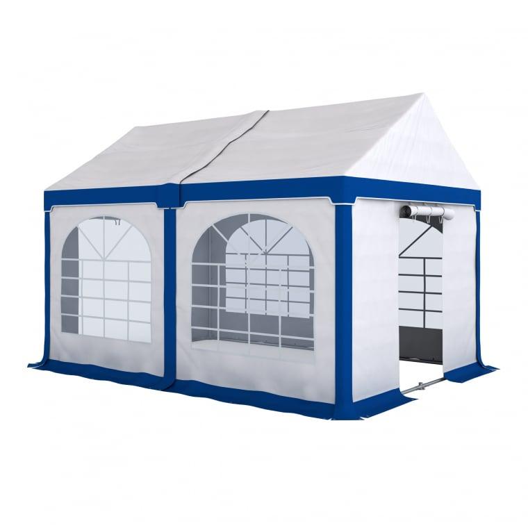 PARAMONDO Partyzelt Flex 3 x 4 m   weiß-blau