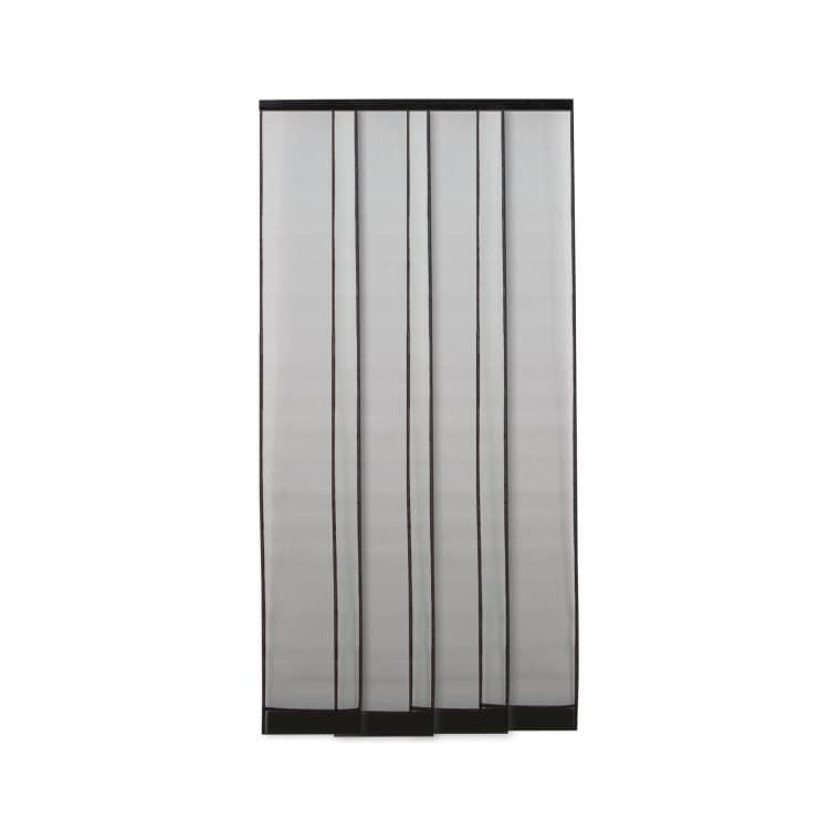 JAROLIFT Fliegengitter Türvorhang 100 x 220cm, schwarz