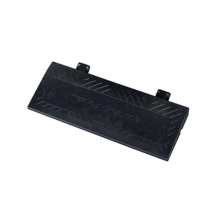 TERRAGUIDE Randabschlussleiste für Eventboden, schwarz