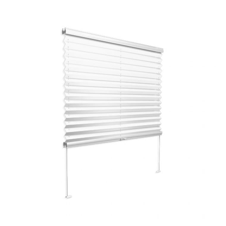 VICTORIA M Plissee für Wintergarten Cosiflor PL11, 200 x 200 mm, weiß