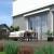 PARAMONDO Kassettenmarkise Line | 3,5 x 3 m | Gestell: weiß | Stoff: Uni, anthrazit
