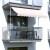 paramondo Klemmmarkise - Balkonmarkise JAM | 3,50 x 1,20 m | Gestell: weiß | Stoff: Uni, creme