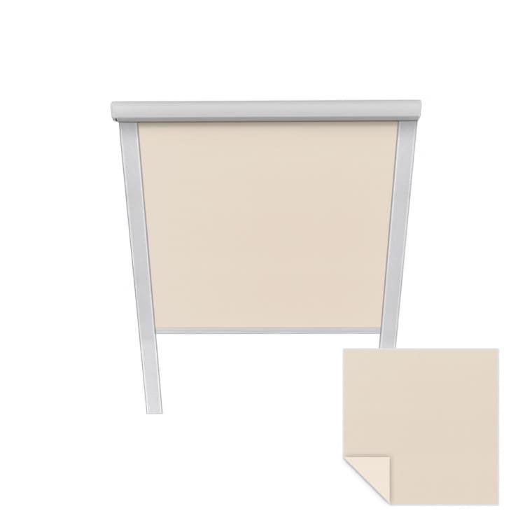 VICTORIA M Verdunkelungsrollo passend für Velux-Dachfenster   CK04   creme
