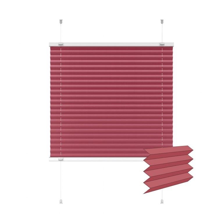 VICTORIA M Indiva Lite Plissee | 60 x 150 cm, rot