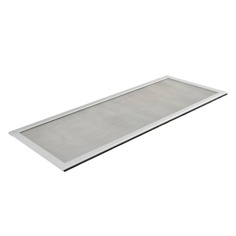 JAROLIFT Lichtschachtabdeckung, 20 x 20 cm, Aluminiumprofil mit Edelstahlgewebe