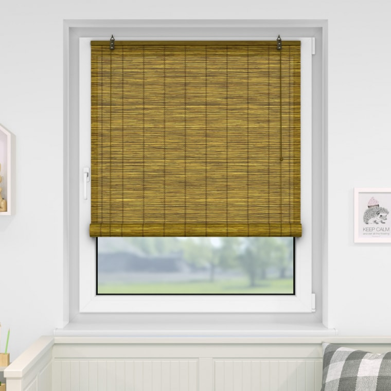 VICTORIA M Bambusrollo 100 x 220cm, braun