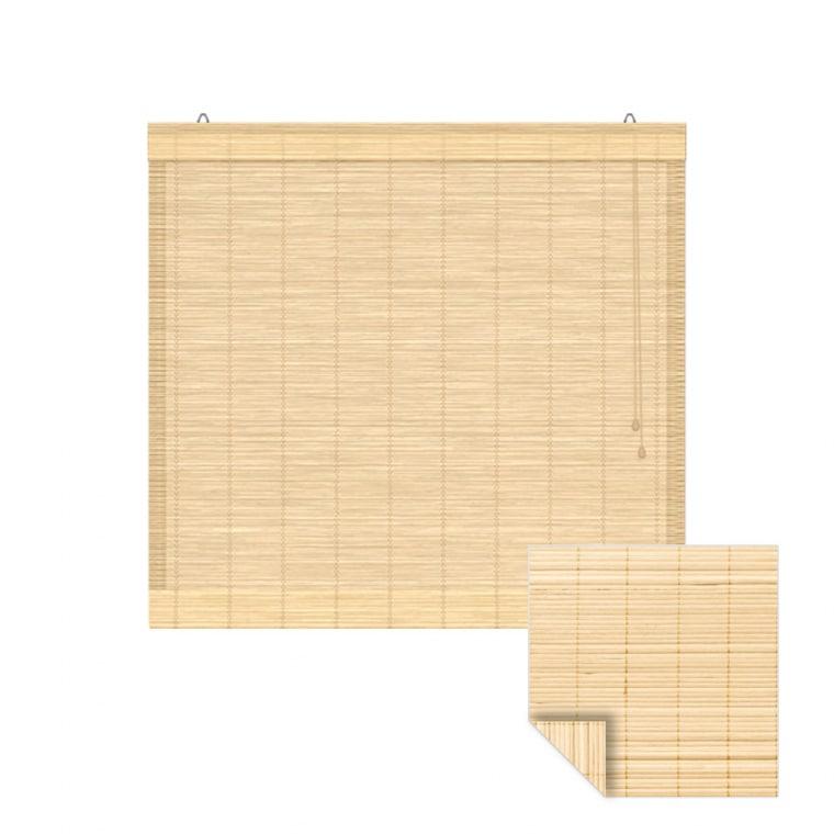 VICTORIA M Bambus-Raffrollo 150 x 160cm, natur