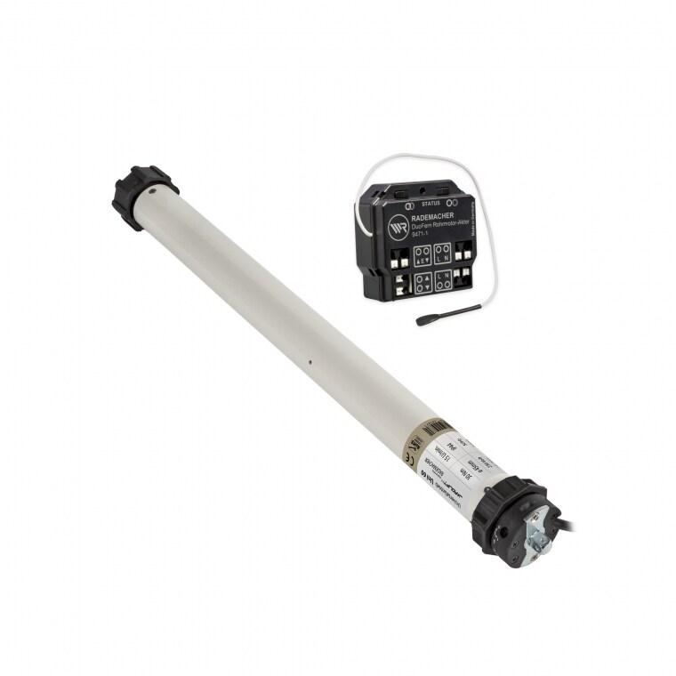 JAROLIFT / RADEMACHER Elektromechanischer Universalmotor Uni 60 + Rohrmotor-Aktor DuoFern 9471-1