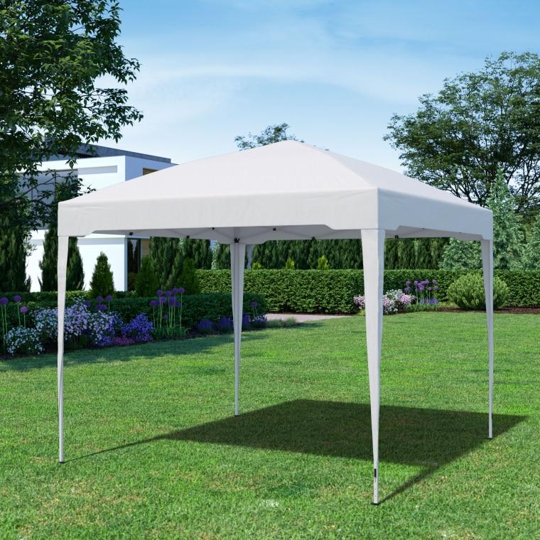 PARAMONDO Faltpavillon Premium | 3 x 3 m, weiß