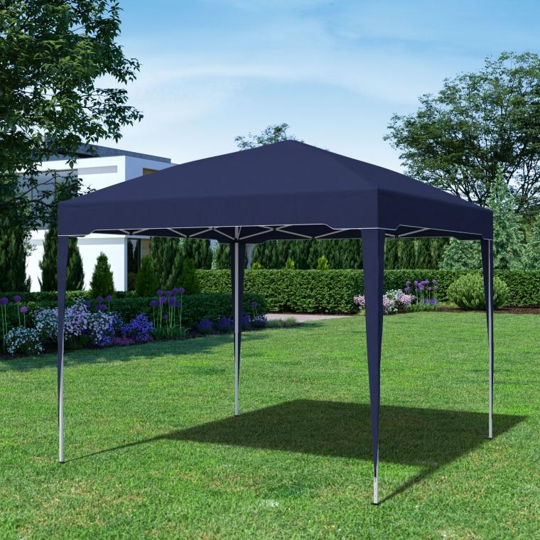 paramondo Faltpavillon Premium | 3 x 3 m, blau